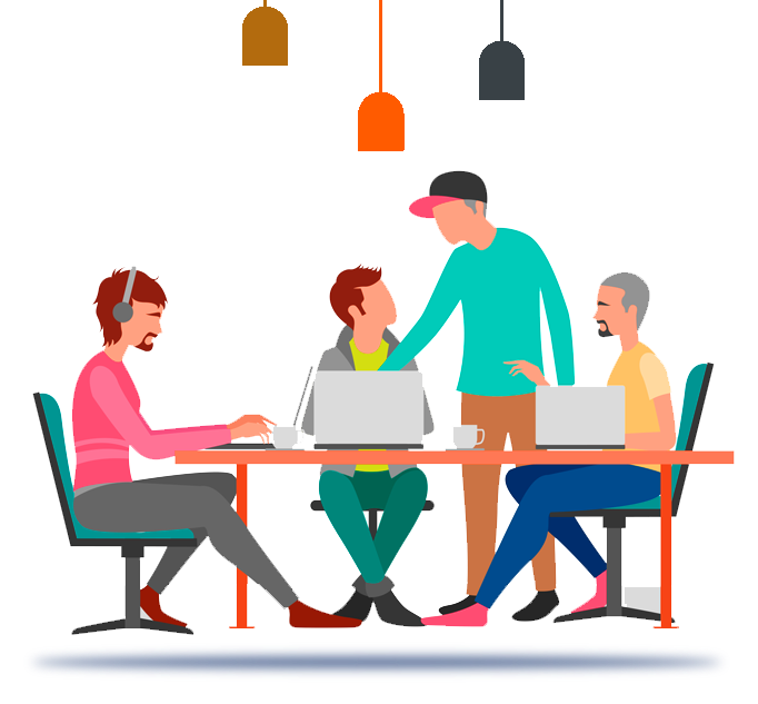 Collaboration clipart admin team. Contact our of highly