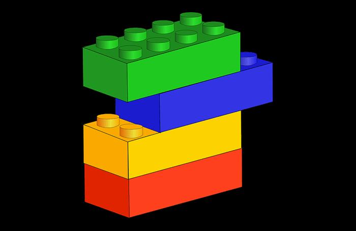 blocks for financial. Toddler clipart building block
