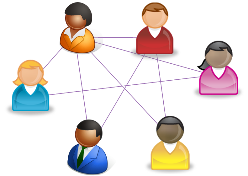 Professional clipart professional networking. Departmental network socioboard blog