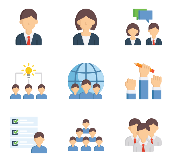Teamwork clipart office.  icon packs vector