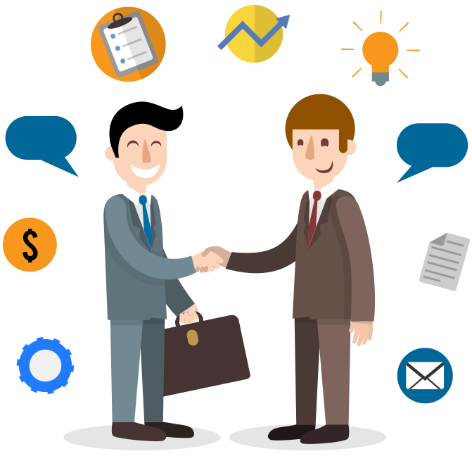 Find out about america. Collaboration clipart business support