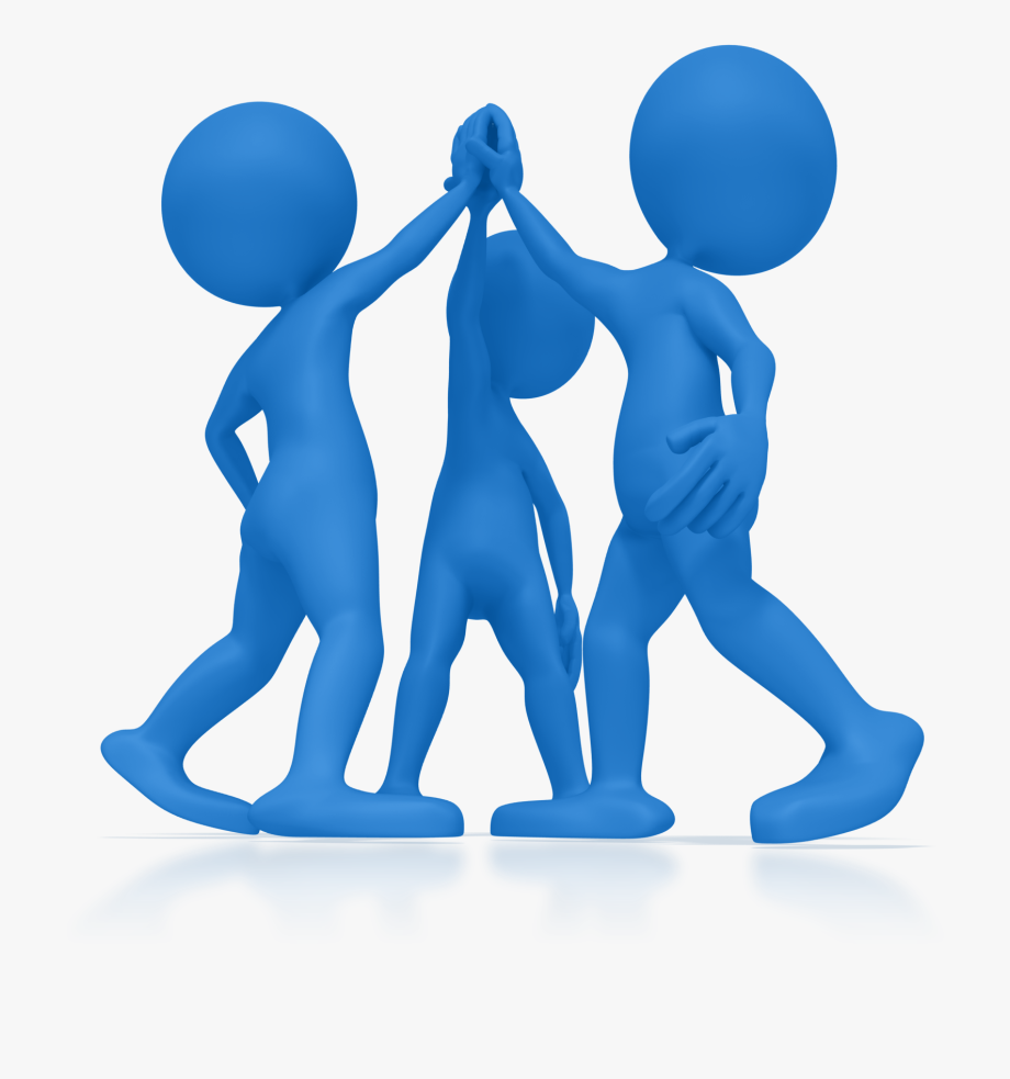 About us high five. Collaboration clipart corporate team