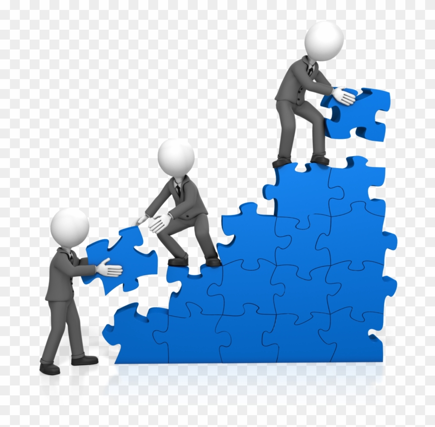 Soft skill training . Collaboration clipart corporate team