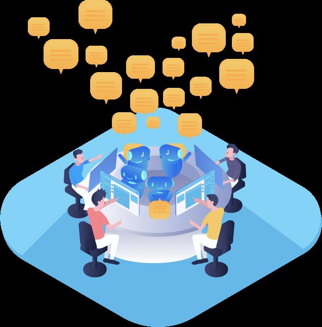 Introducing jatana medium jatanas. Collaboration clipart customer service