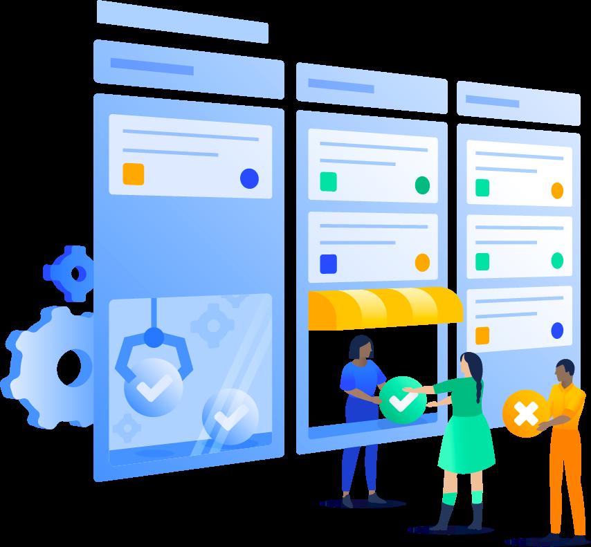 Collaboration clipart customer service.  atlassian tips for