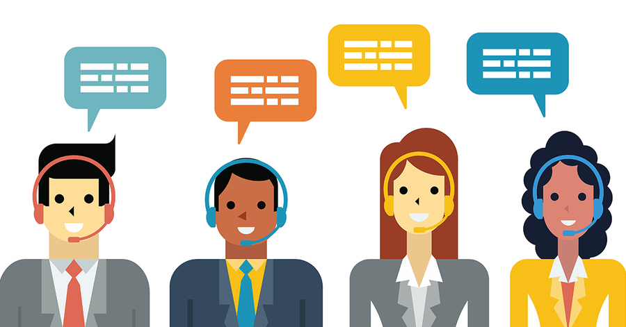 Download chat online . Collaboration clipart customer service