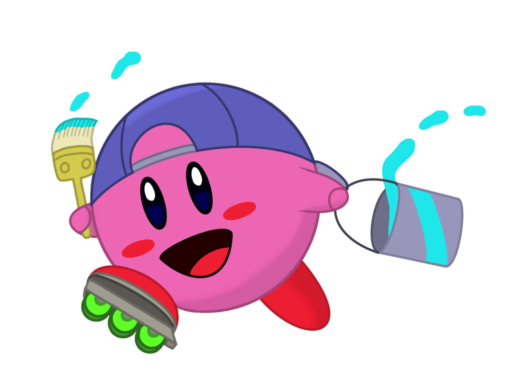 Kirby fun charity collab. Collaboration clipart distant