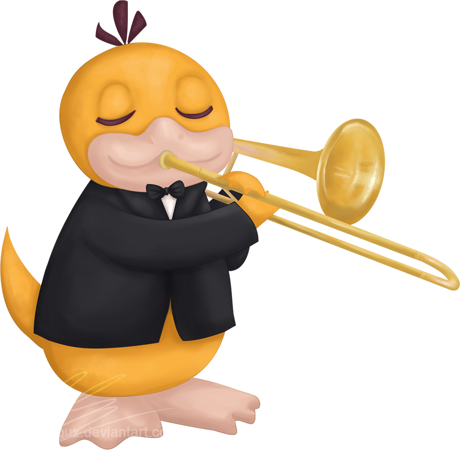 Collaboration clipart distant. Pokemon orchestra by andorada