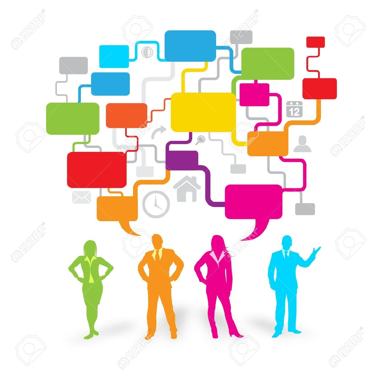 Communicating free download best. Collaboration clipart effective communication