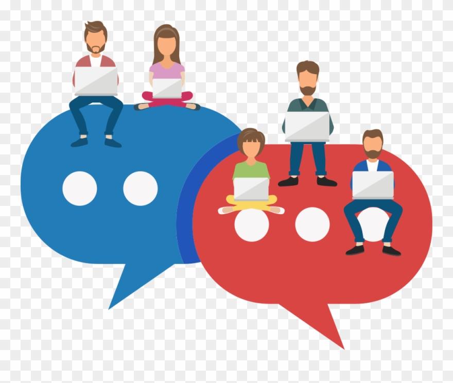 Employee software pessoas conectadas. Collaboration clipart feedback