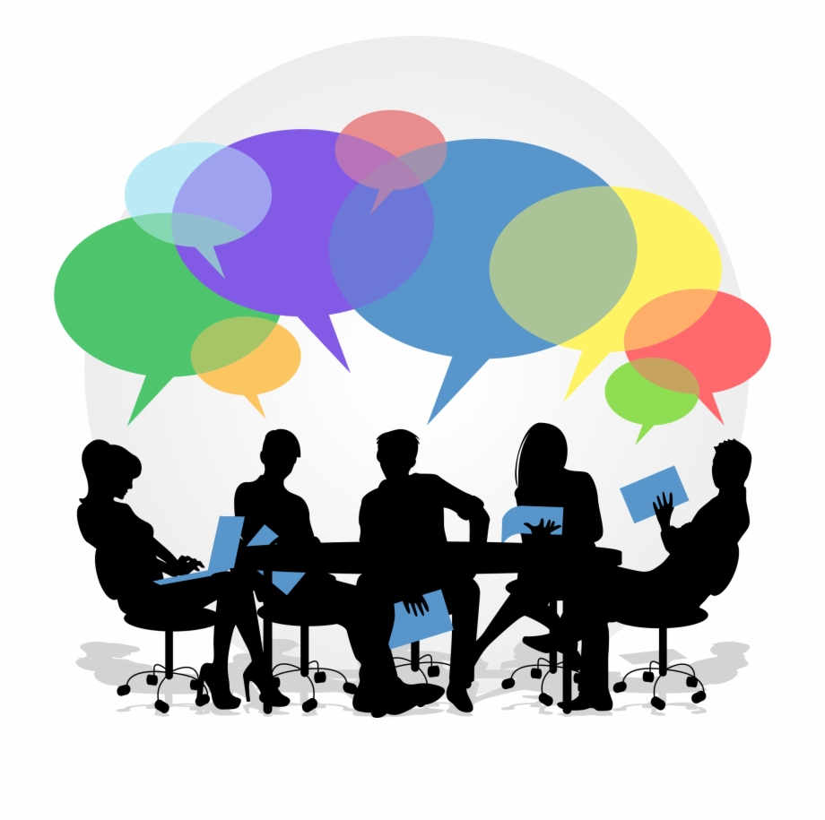 Collaboration clipart feedback. Png image learning free