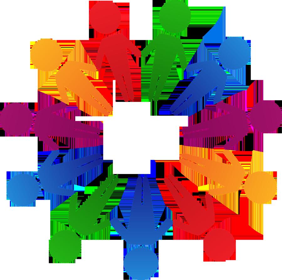 Community clipart partnership. Network acur lunamedia co