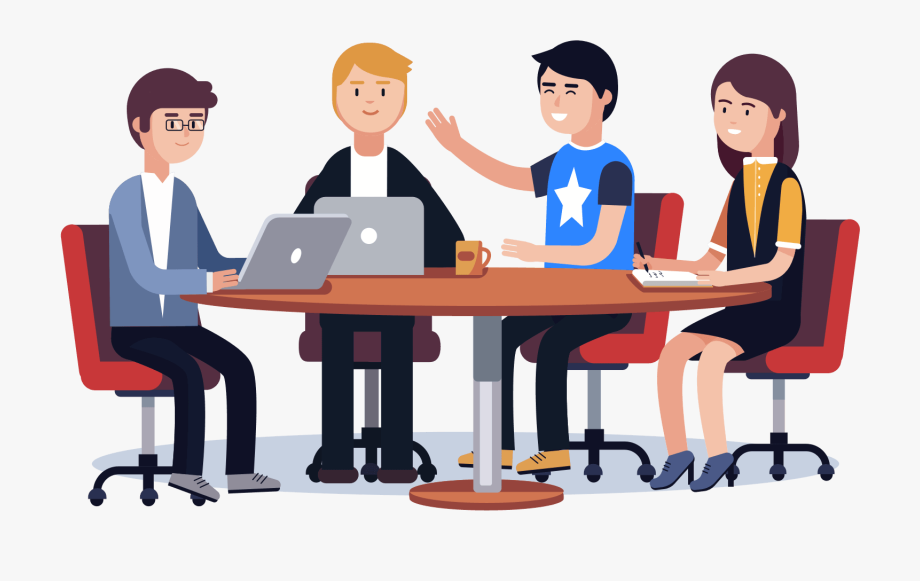 Work find . Collaboration clipart get together