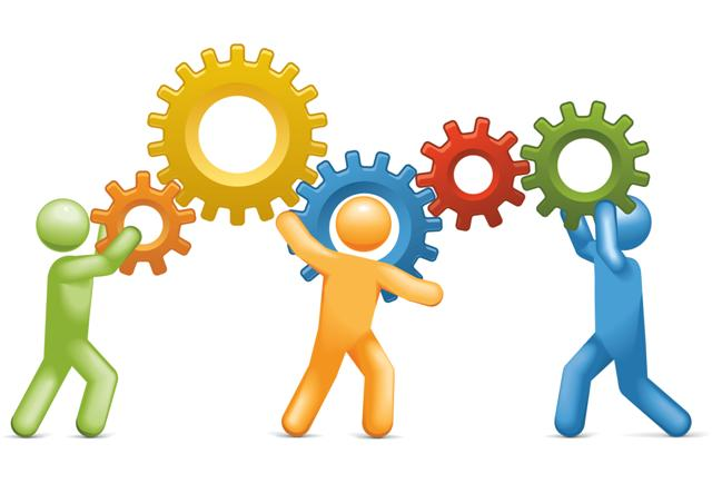 Teamwork clipart one team. Free working together images