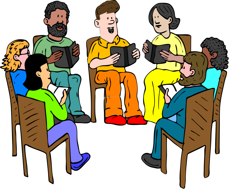 Free of people images. Conversation clipart group therapy