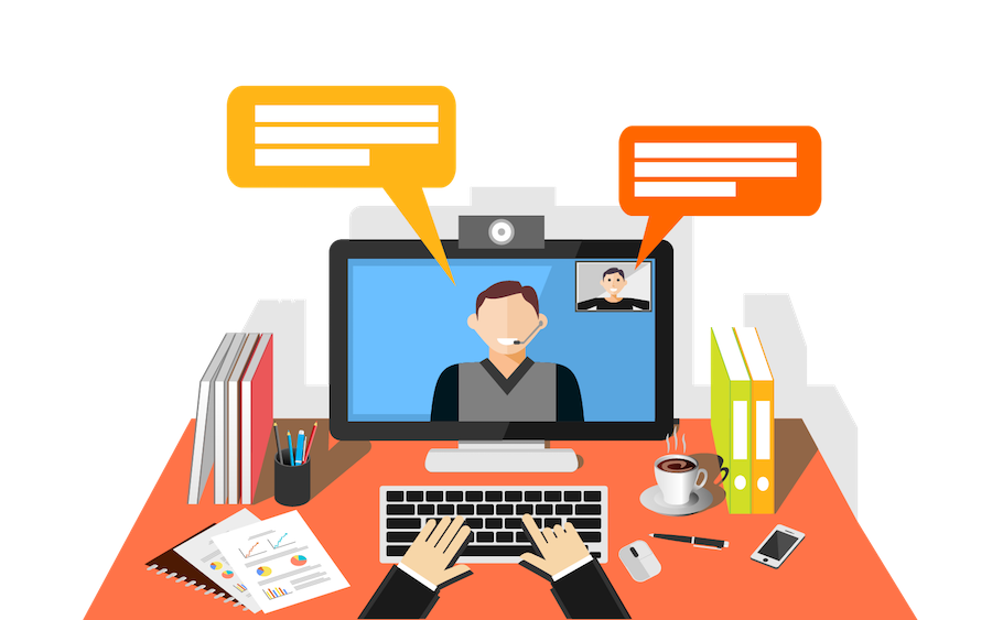 Collaboration clipart interpersonal relationship. Web conferencing a better