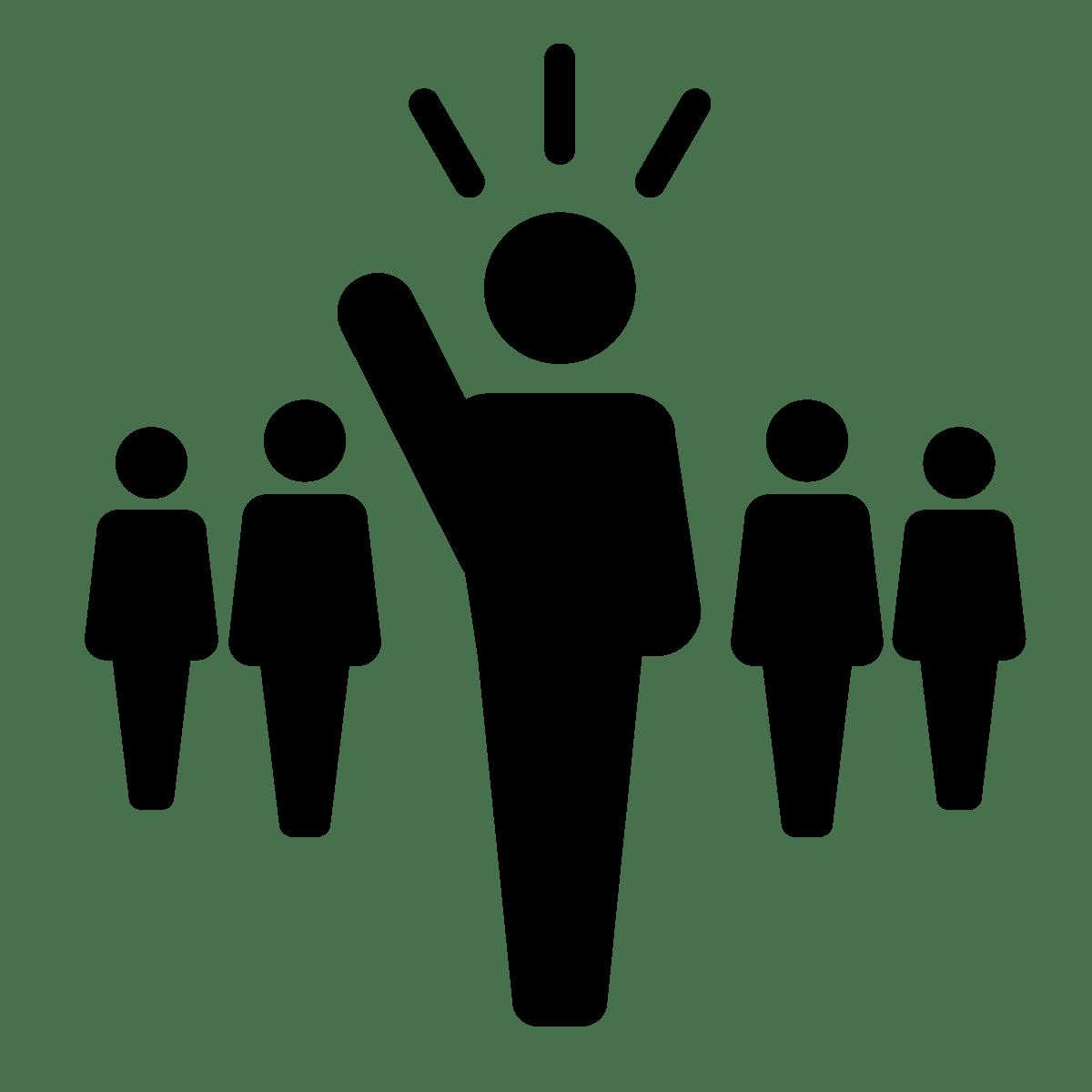 Joinin . Leader clipart leadership