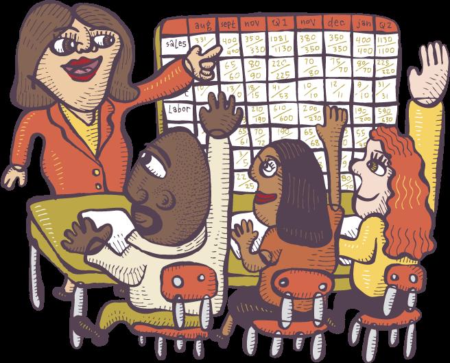 Open book management zingtrain. Employee clipart seminar