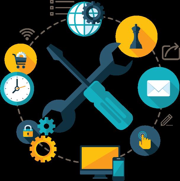 Cloud migrations advantage services. Collaboration clipart office
