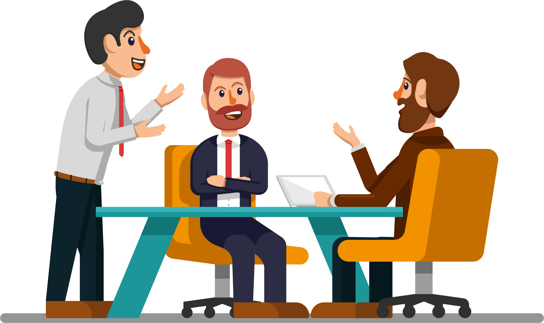 Organizational communication management climate. Collaboration clipart organisation