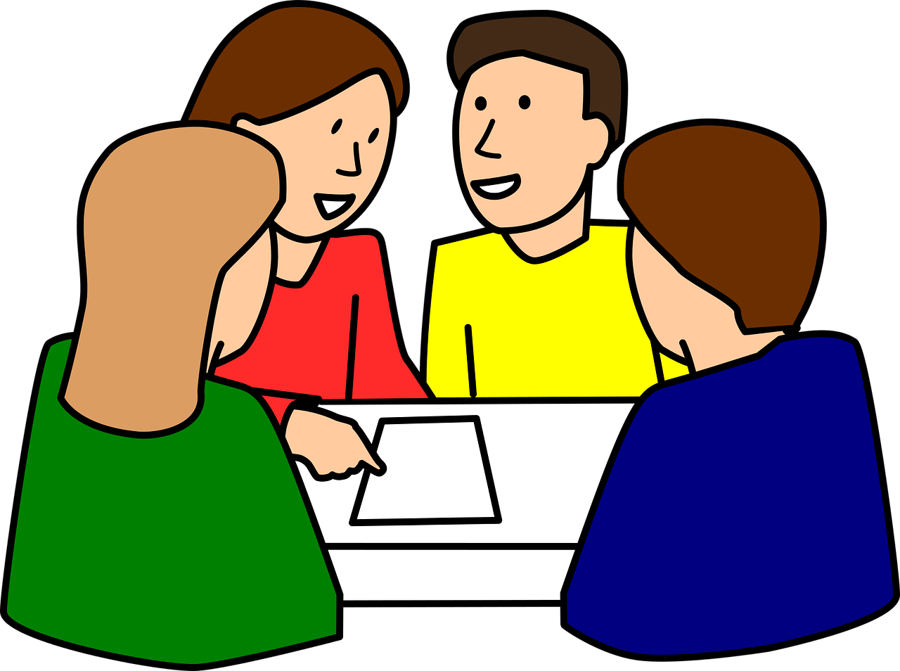 Collaboration clipart project based learning. Developing linguistic and intercultural