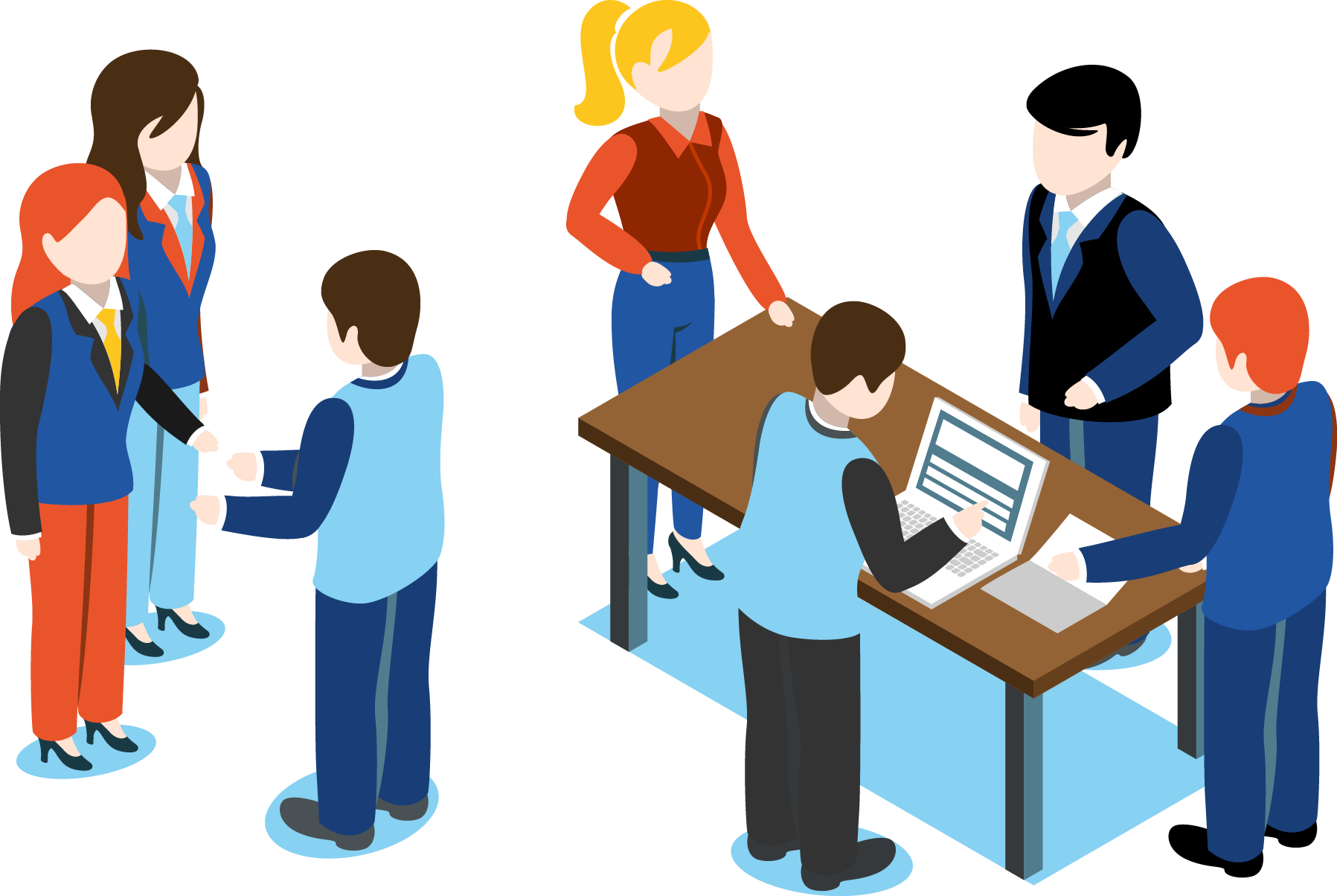 Collaboration clipart project overview. Clickonsite telecom infrastructure and