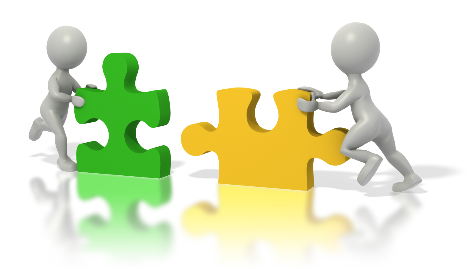 Collaboration clipart puzzle piece person. Together helping you to