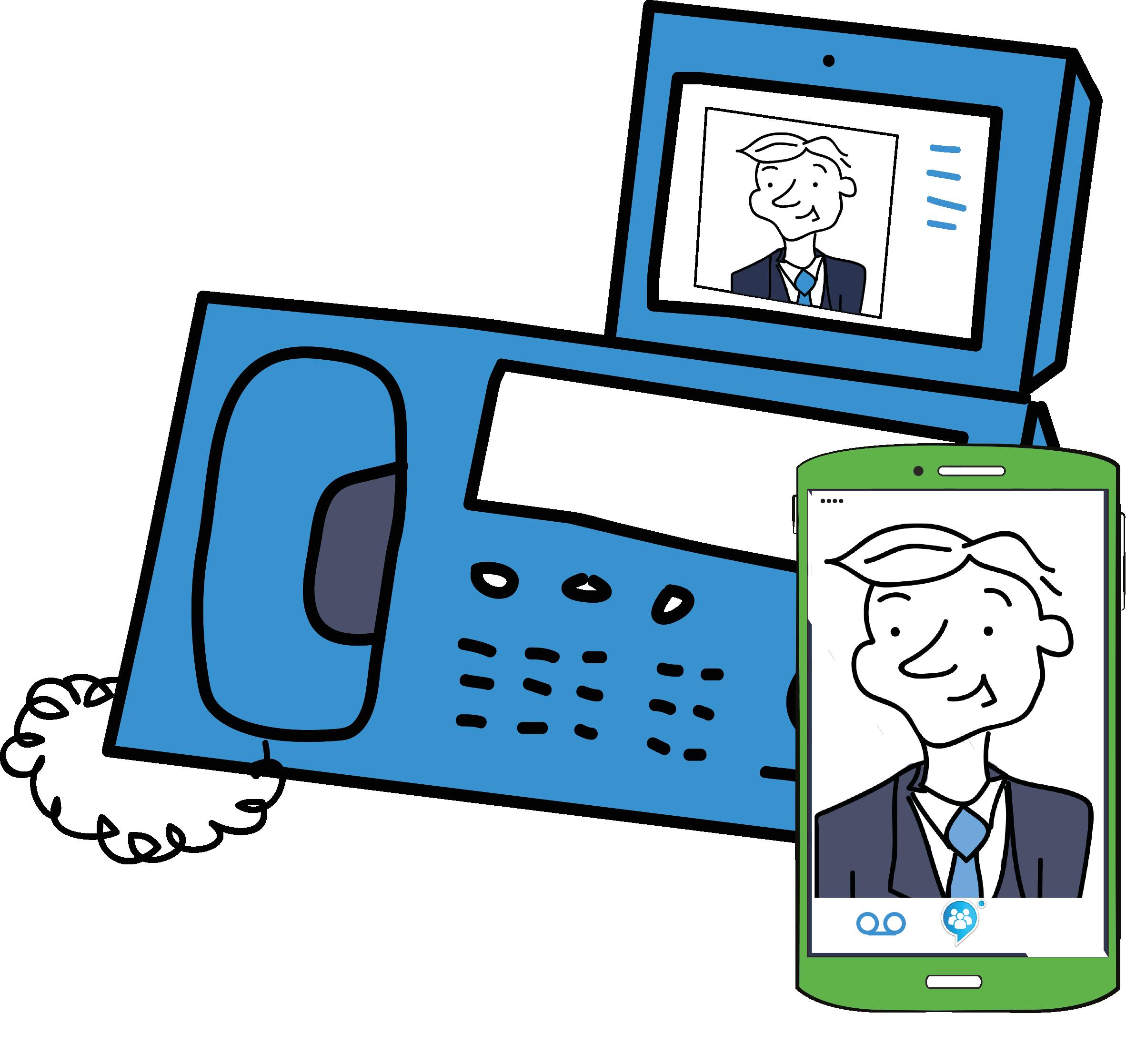 Deltapath frsip uc platform. Collaboration clipart remote