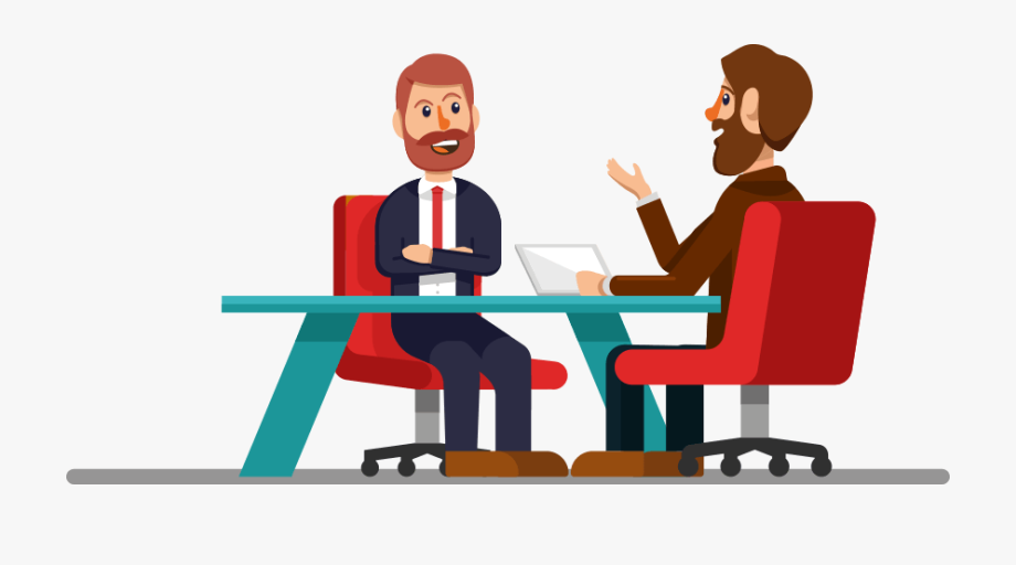 Interview . Collaboration clipart requirement gathering