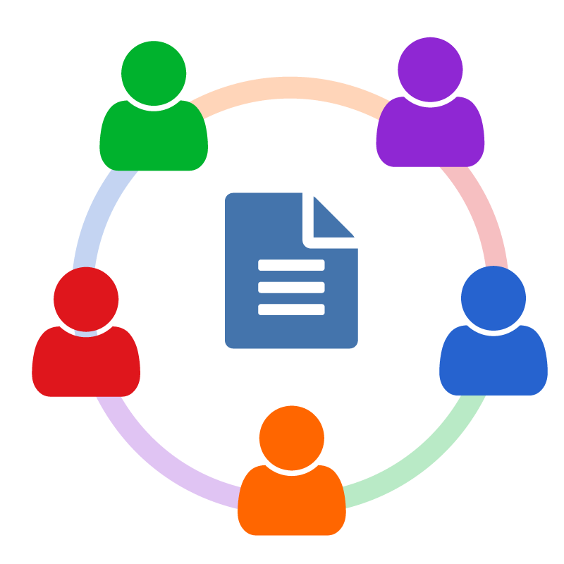 Collaboration clipart school based management. Sharepoint file flat
