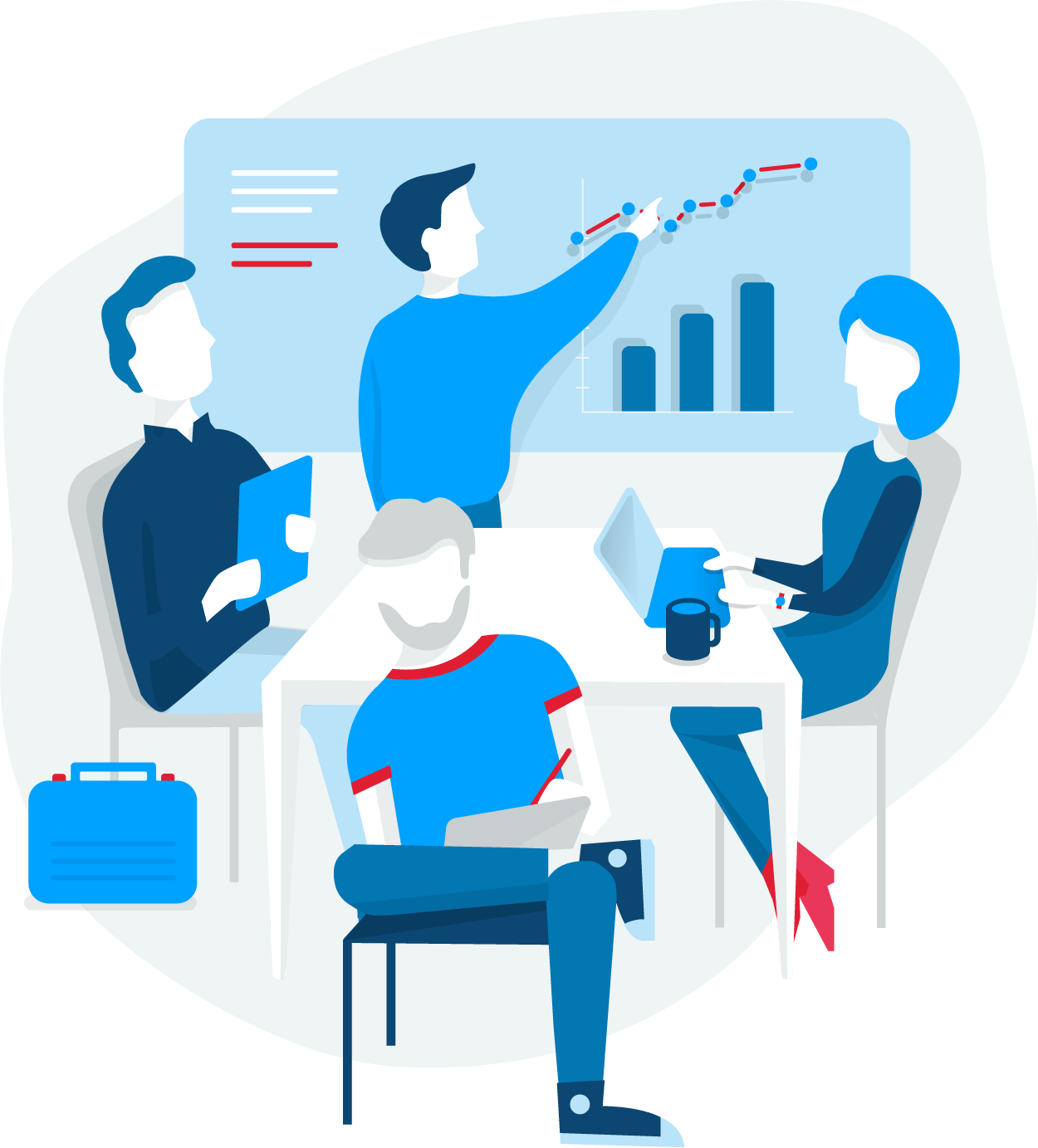 Collaboration clipart secondary group. Range digital marketing agency