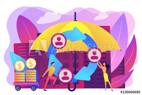 Individuals pool their premiums. Collaboration clipart social isolation