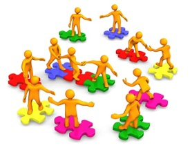 Defining engagement management s. Collaboration clipart stakeholder