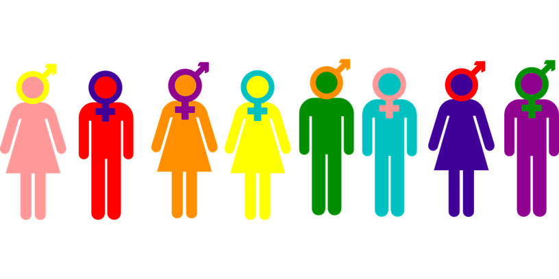 Binary gender theology in. Discussion clipart group norm