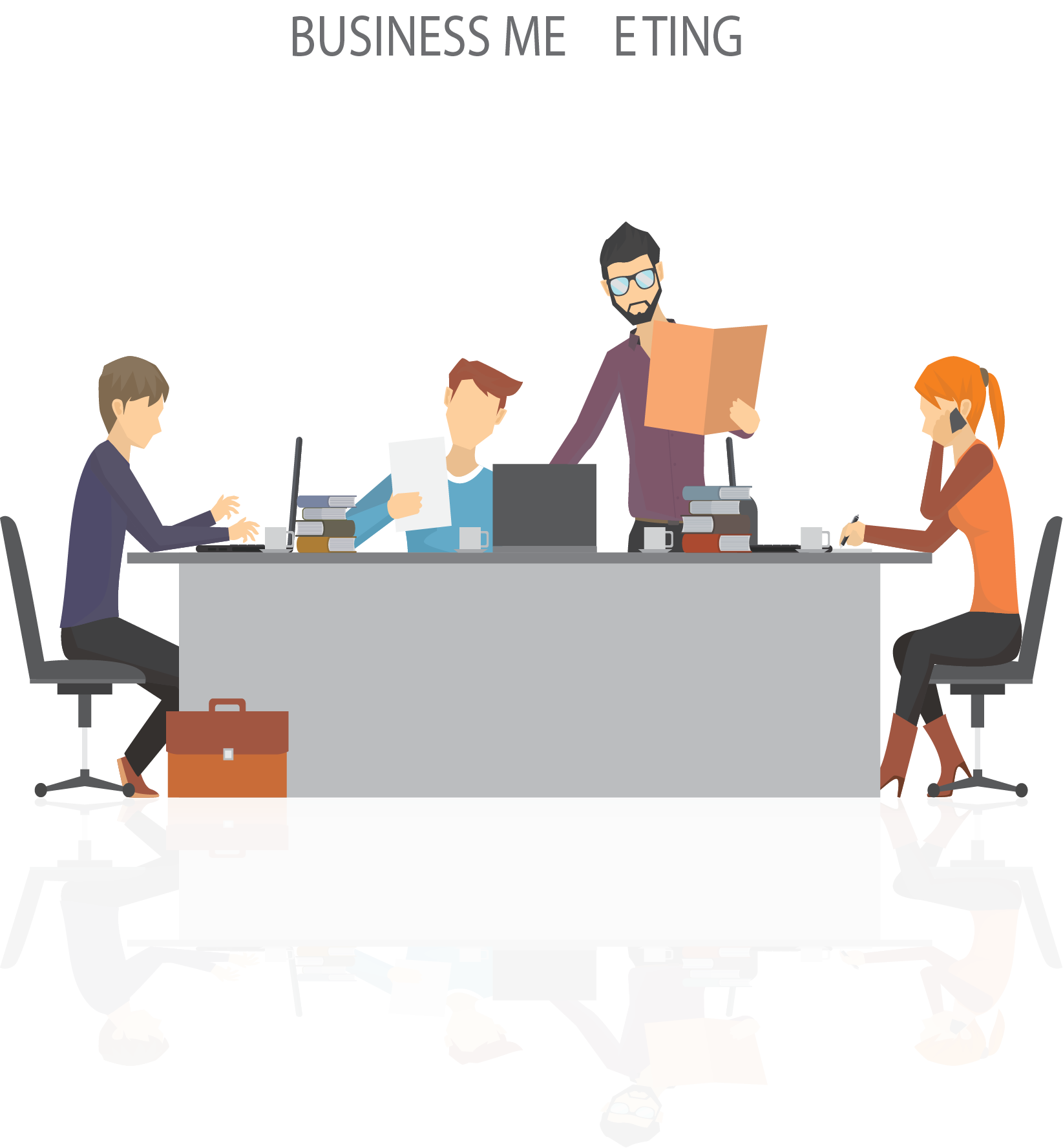 Meeting site free on. Collaboration clipart stereotype