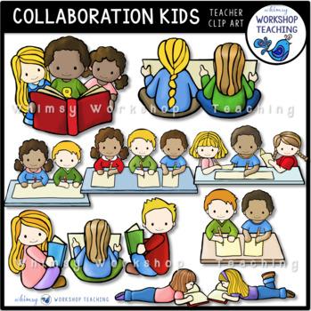Kids clip art . Collaboration clipart teacher collaboration