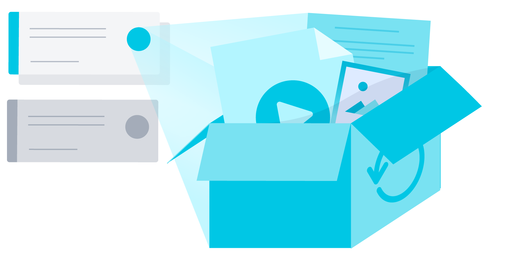 How the new dropbox. Collaboration clipart team challenge