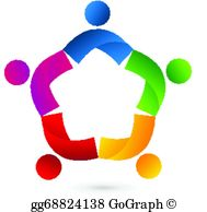 Clip art royalty free. Collaboration clipart teamwork