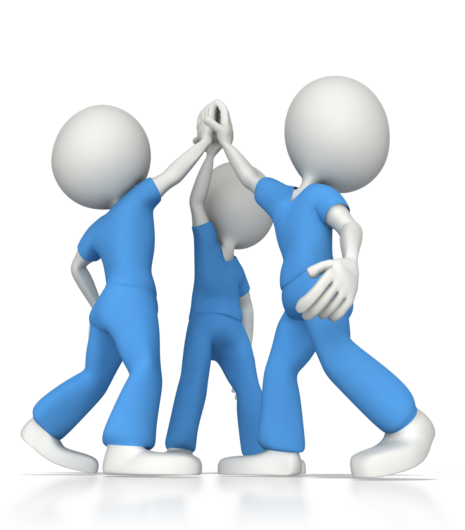 High five surgical team. Teamwork clipart nursing teamwork