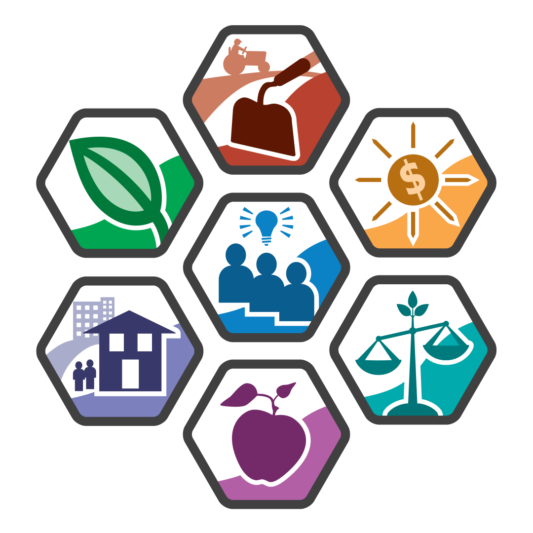 Food systems toolkit program. Community clipart urban area