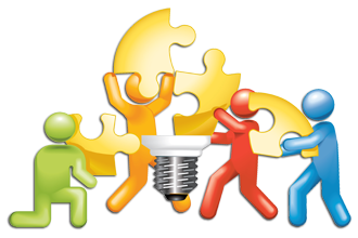 Teamwork clipart team work. Collaboration organization management clip