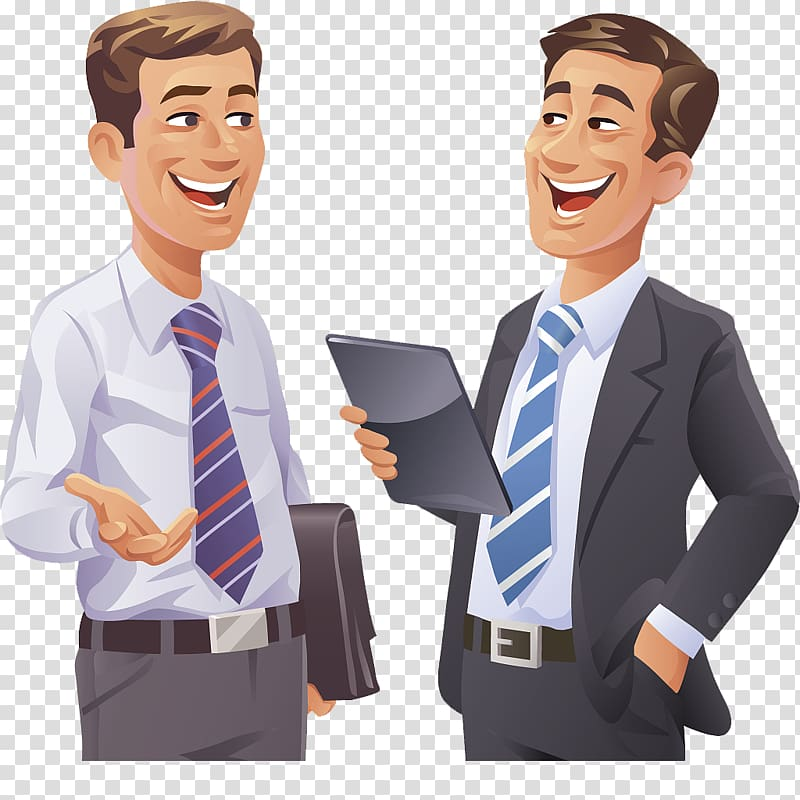 Collaboration clipart two. Men talking to each