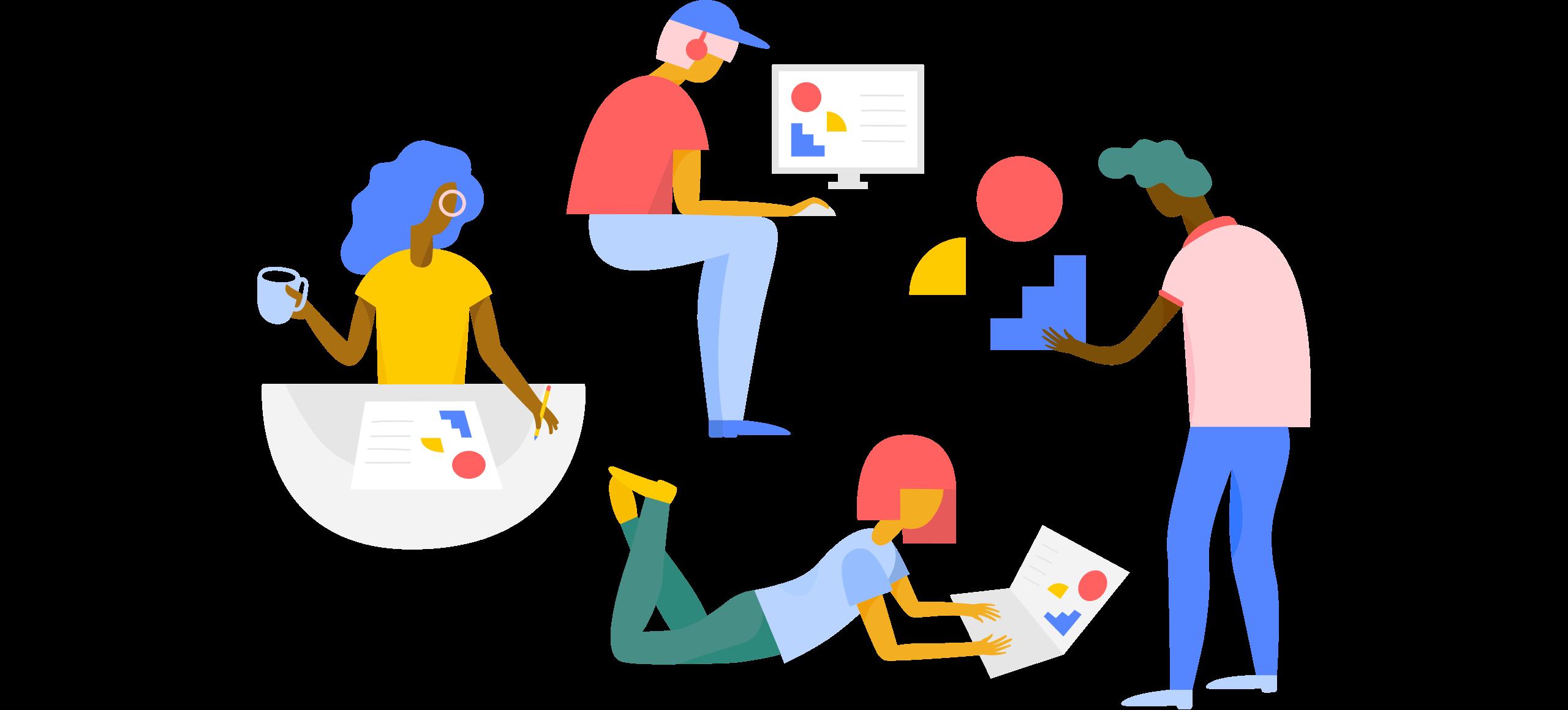 Teamwork clipart group 4. A design library made