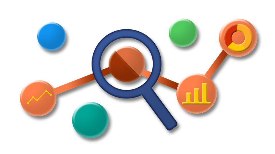 Learning from google analytics. Collaboration clipart workforce development