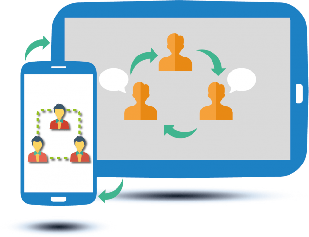 Celstra features connect and. Collaboration clipart workforce planning