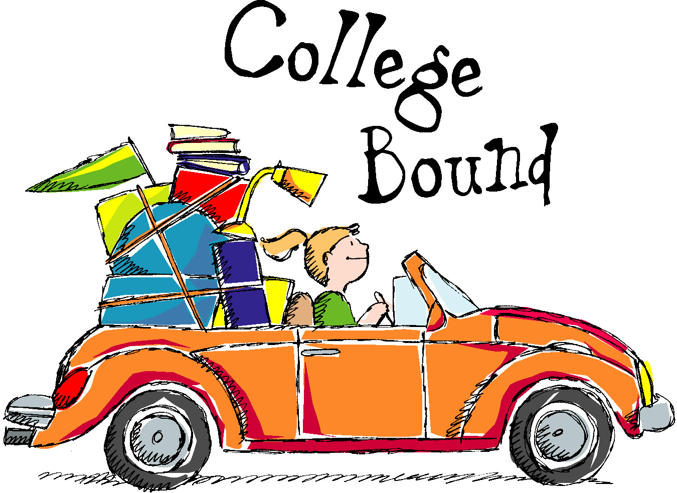 Breakdown of scotch plains. College clipart
