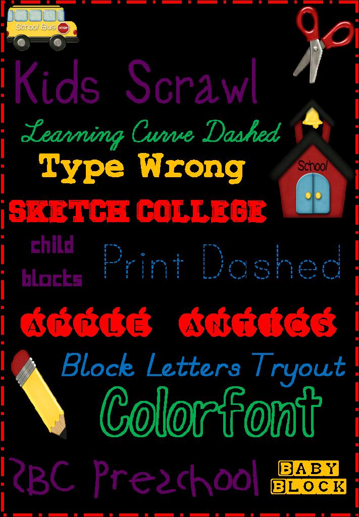 Menu font