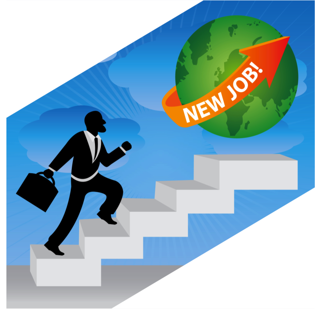 Searching these search steps. Statistics clipart job seeker