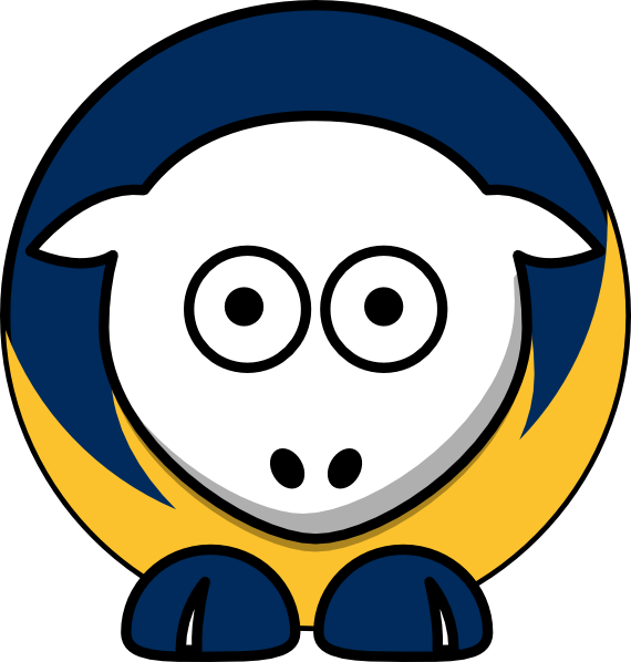 Sheep uc irvine anteaters. College clipart college acceptance