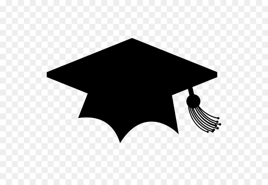 College clipart college hat. School black and white